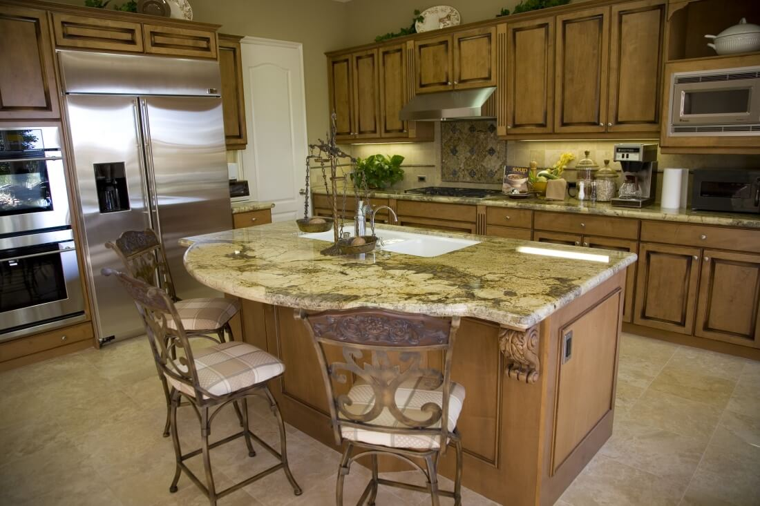 Island Shape Kitchen