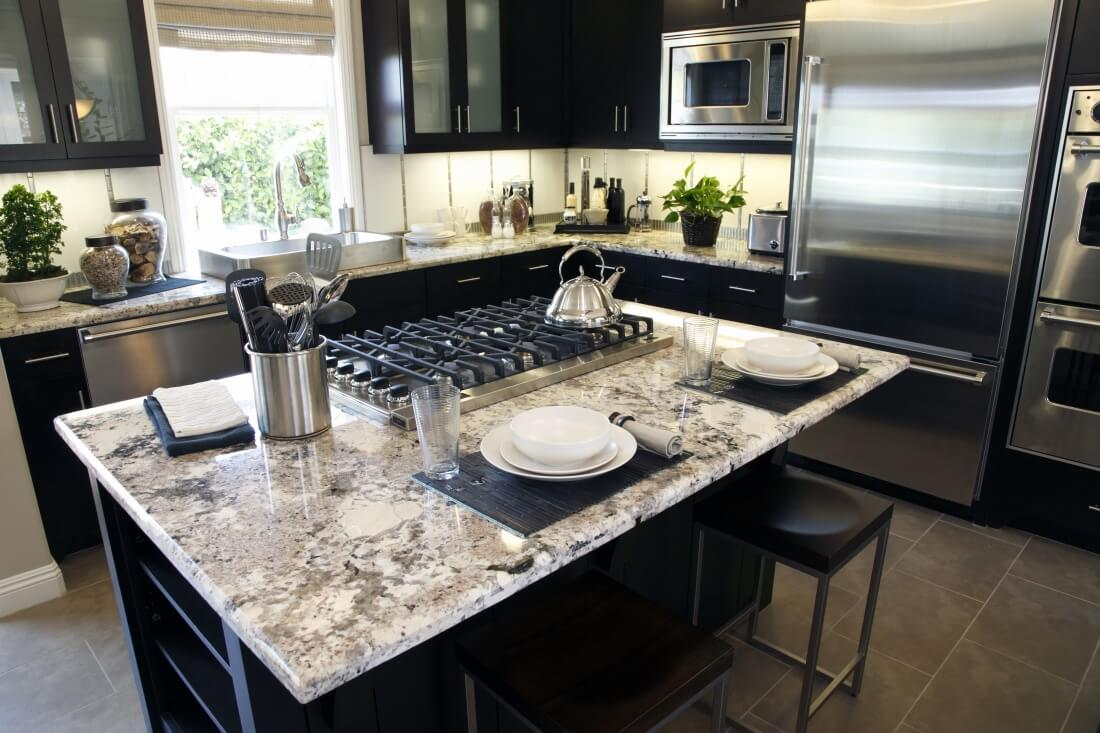 Granite Countertop Kitchens One Of The Best Home Design