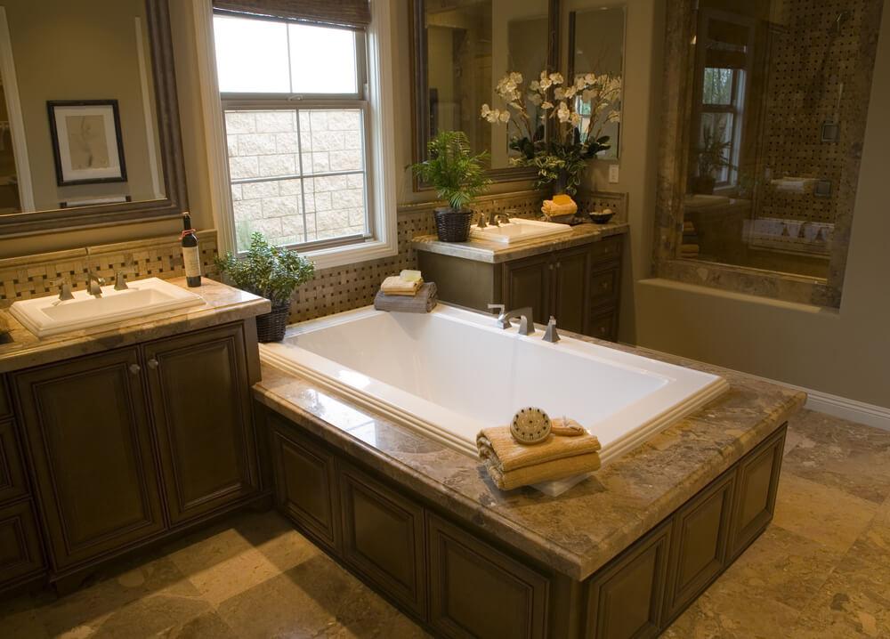 Marvellous Single Bathroom Vanities Vessel Sinks